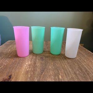 Vintage Tupperware cups